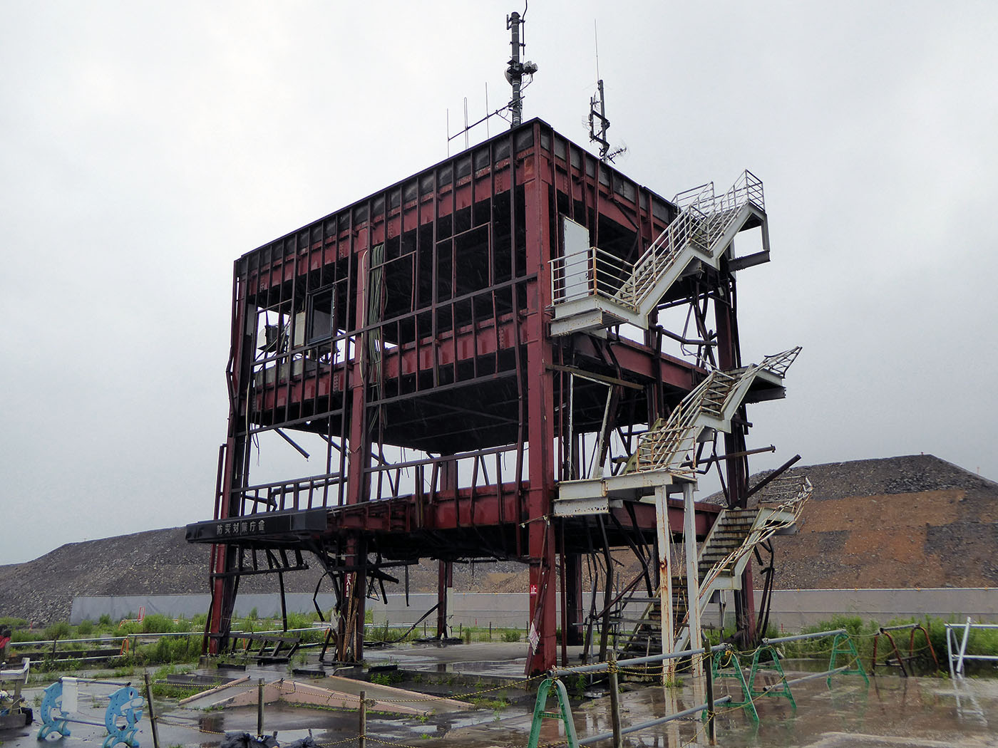 南三陸町の防災対策庁舎