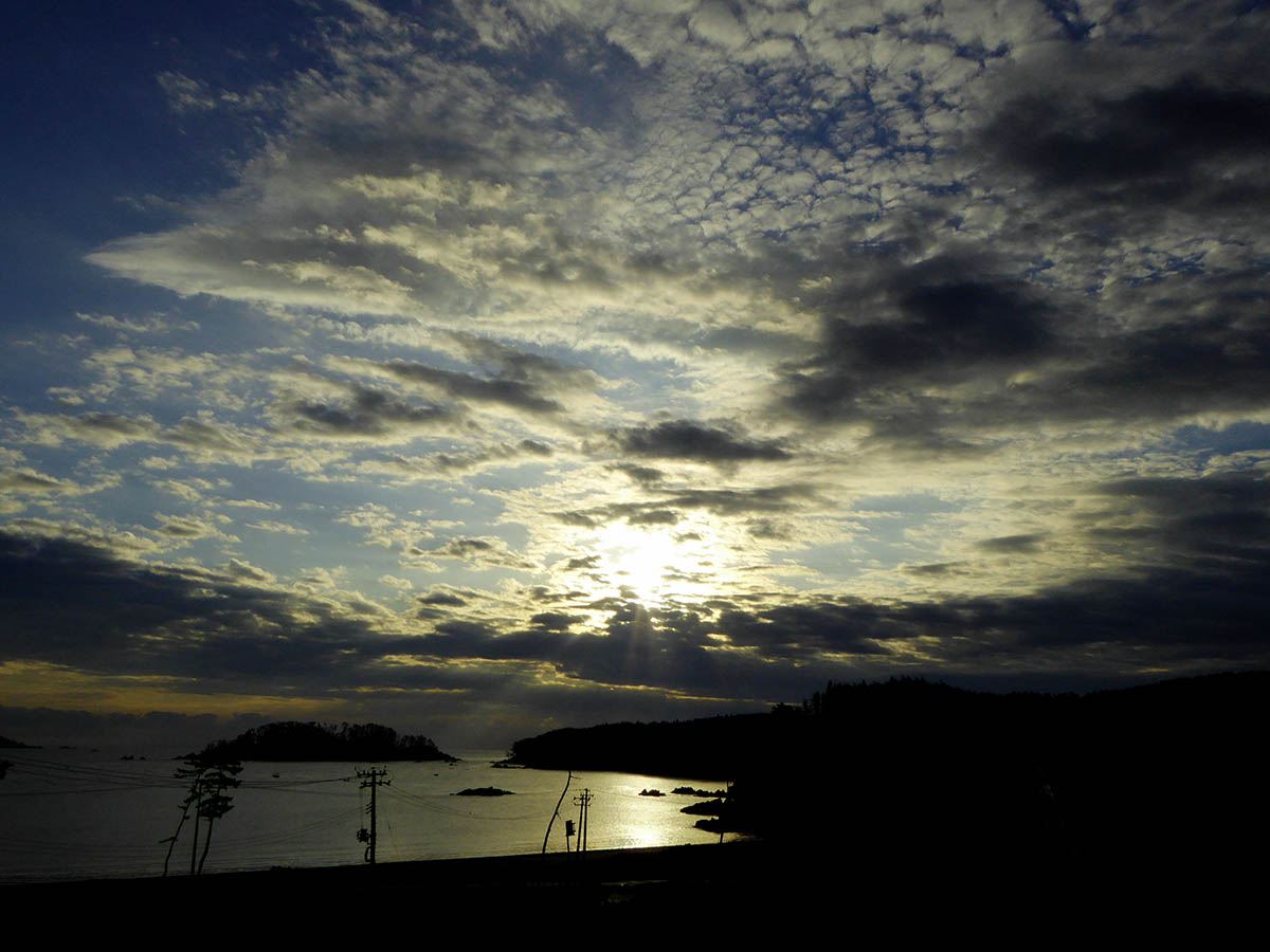 s大島の朝